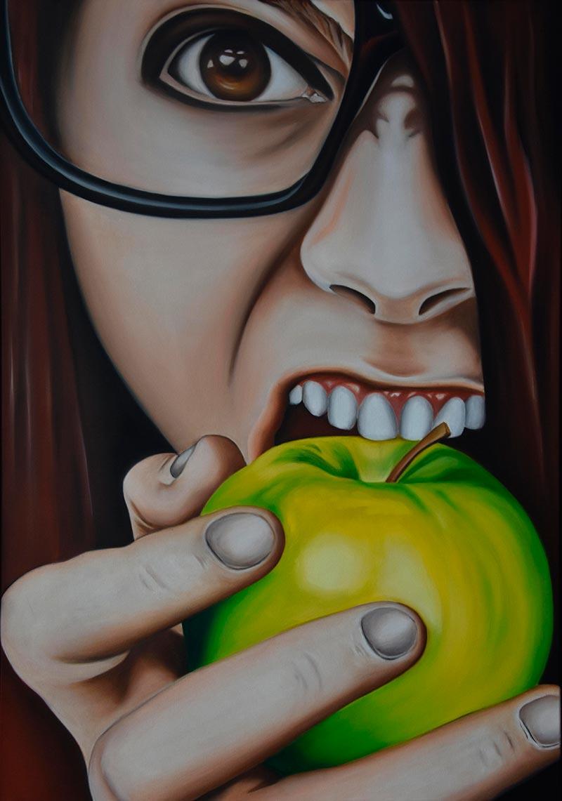 Ölportrait: An apple a day!