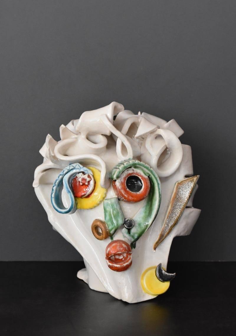 Keramikkopf