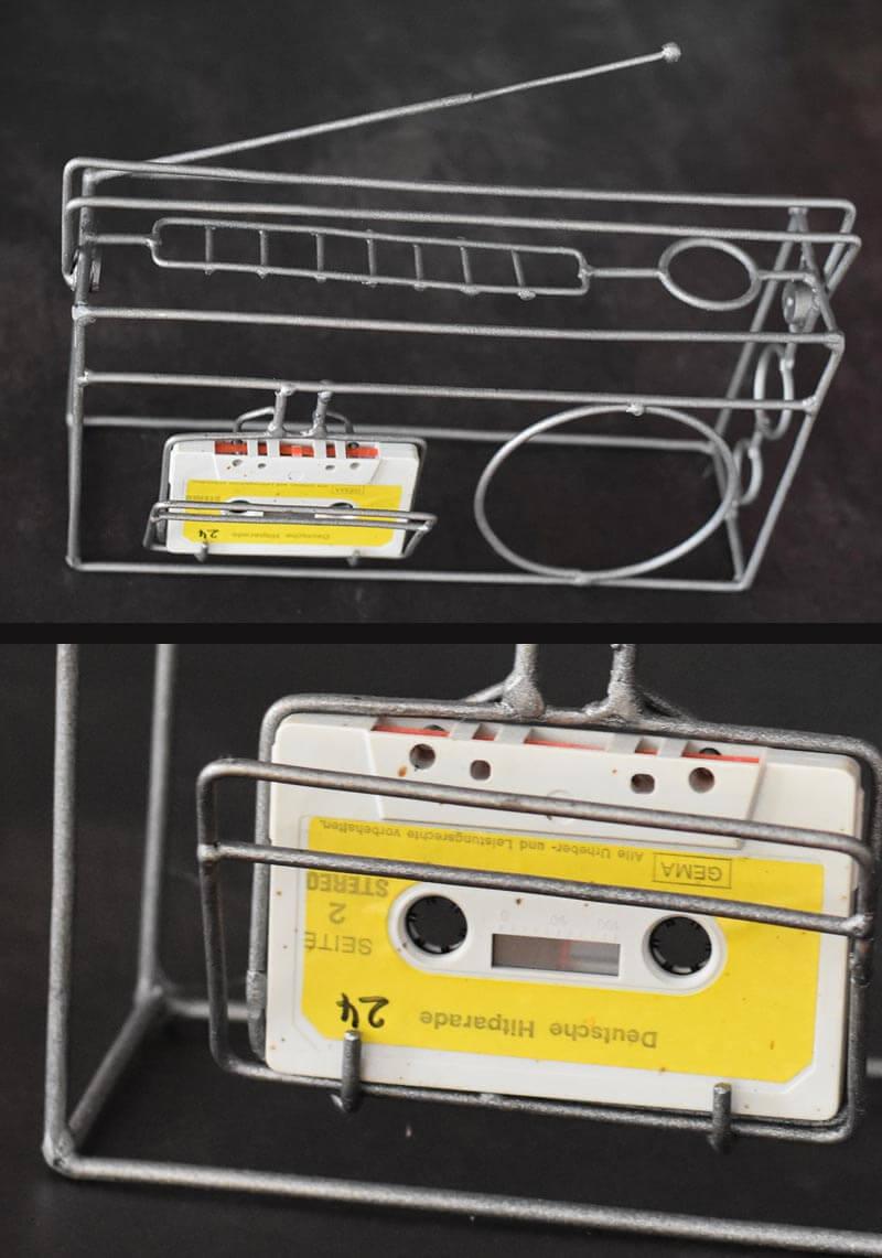 Serie Vergänglichkeit: Kassettenradio